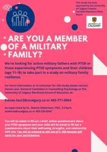 Research Study Strand One Resiliance in Military Families